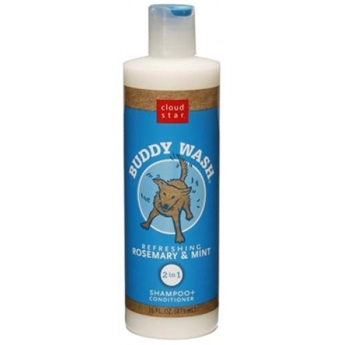 Cloud Star® Buddy Wash Pet Shampoo - Rosemary and Mint 16 fl. oz.