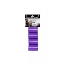 Designer Refill Bags - Purple/Lavender - 4 Rolls