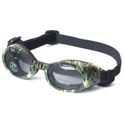 Green Camo ILS Doggles with Light Smoke Lens